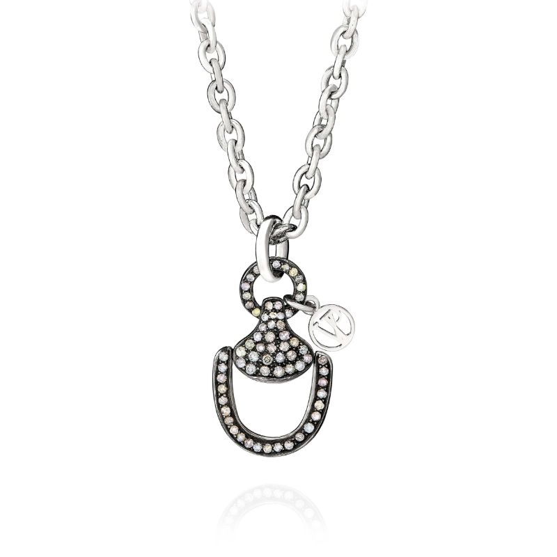 Vincent Peach Churchill Downs Diamond Necklace